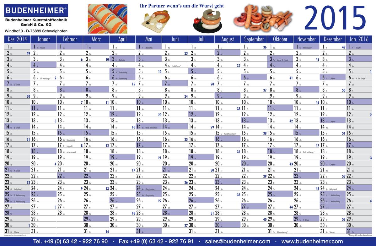 Annual Planners | Calendar Template 2016